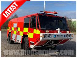 modsurplus - ex military vehicle - Alvis Unipower 4x4 Rapid Intervention Vehicle RIV - MoD Ref: 50380