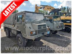 modsurplus - ex military vehicle - Pinzgauer 716 4x4 Soft Top - MoD Ref: 50381