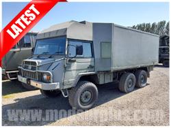 modsurplus - ex military vehicle - Pinzgauer 718 6×6 Comms Truck - MoD Ref: 50382