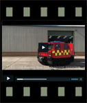 Video of Hagglund BV206 ATV Fire Appliance (Fire Chief)