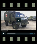 Video of Mercedes Benz Unimog U1300L 4x4 Medical Ambulance