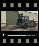 Video of Valmet 1612HS 4x4 16 Ton Forklift
