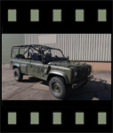 Video of Land Rover Defender Wolf 110 Scout vehicle