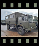 Video of Leyland Daf T45 4x4 Personnel Carrier / shoot vehicle with Canopy & Seats
