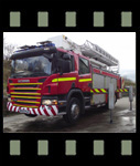 Video of SCANIA 310 VEMA Aerial platform and Pump